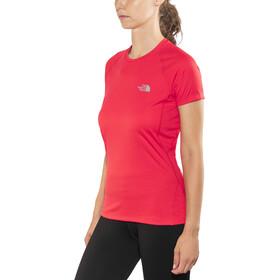 The North Face Flex Camisa Manga Corta Mujer, juicy red